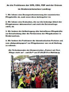 Protest mit Fest