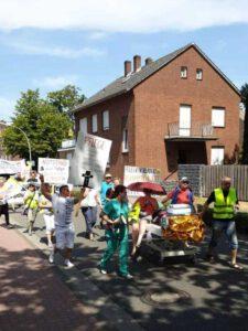 Demo in Lingen