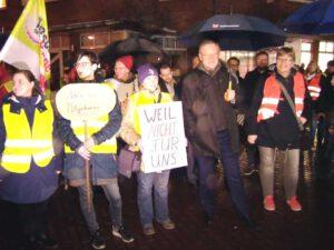Demo in Uelsen