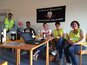 Treffen des Pflegekammer Widerstands in Winsen